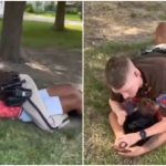 'I Don't Want You to Hurt Me!': Tearful Teen Pleads with Texas Deputy Who Received 911 Call About Someone Walking In Traffic, He Pins Her to the Ground