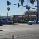 Authorities Respond To Crash Involving Henderson Police Car At Windmill, Pecos Road
